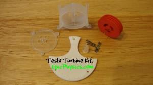 Tesla Turbine Parts