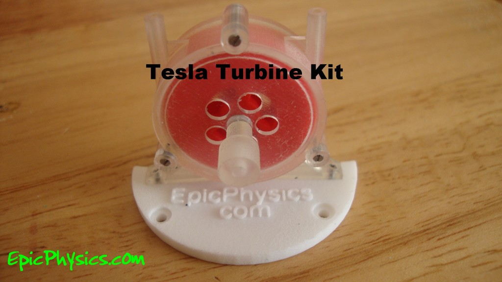 Tesla turbine kit