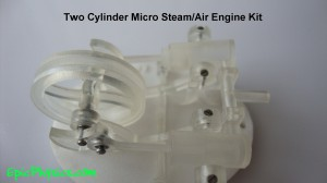 Two cylinder steam engine kit