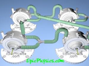 Multi stage tesla turbines