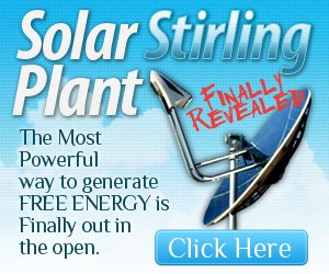 solar stirling engine generator